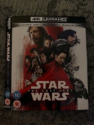 Star Wars The Last Jedi 4K SLEEVE ONLY