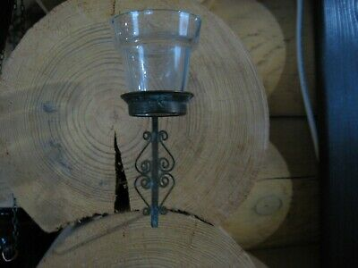 Russian,Lamp for Icon (under  kiot),Lampadka Orthodox Antique old  Glass  m