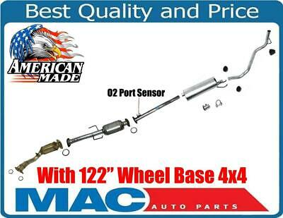 for 01-04 Crew Cab Tacoma With 122 Inch W//B 2.7L Muffler Exhaust System Made USA