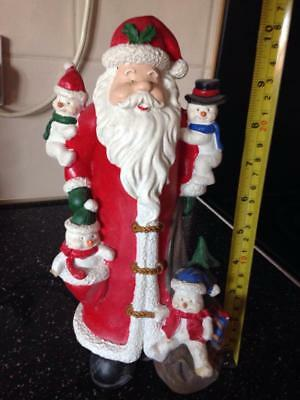 Latex Mould for making this tall santa and friends