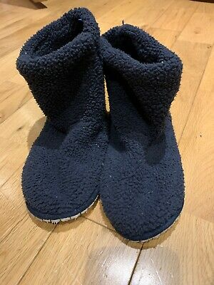 Boys The Little White Company Slipper Boots Size 1/2