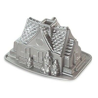 Nordic Ware Gingerbread House Bundt Baking Pan