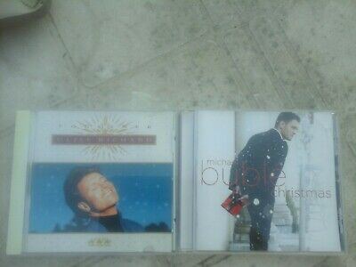 2 Christmas CDs Cliff Richard Together & Michael Buble
