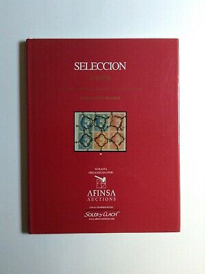 Afinsa Auction Spanish Stamps Catalogue Book 2001