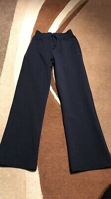 Girls Age 6-7 Years George Navy Blue Jogging Bottoms Pants