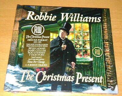 Robbie Williams - The Christmas Present Deluxe Edition 2 CD inc 4 bonus tracks