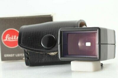 【RARE! BOXED NEAR MINT】 Leica 21mm Bright-Line Viewfinder +Case From JAPAN