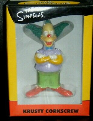 The Simpsons Krusty Corkscrew Boxed 2003