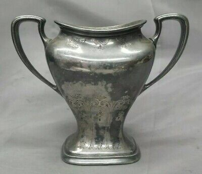 Old Vintage 1847 Rodgers Bros Silver Plate Two Handle Vase