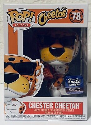 Funko Pop Chester Cheetah Hollywood Store Exclusive Ad Icon Limited Edition