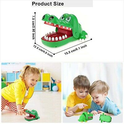 Crocodile Teeth Toys Game for Kids, Crocodile Biting Finger Dentist Games Funny