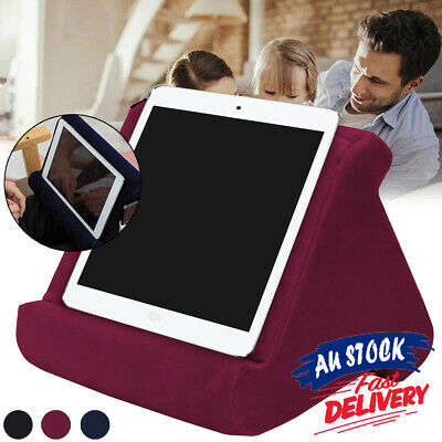 Reading Cushion Pad For iPad Foldable Rest Laptop Sofa Holder Pillow PC Tablet
