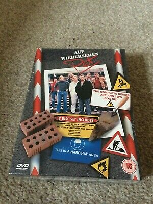 Auf Wiedersehen Pet - The Complete Series 1 And 2 (DVD, 2002, 8-Disc Set) New