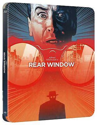 Rear Window (Limited Edition Steelbook) [Blu-ray]