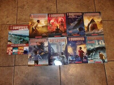 Lot of 9  I Survived Series by Lauren Tarshis