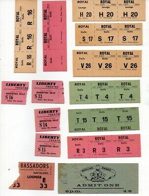 Old Theatre  Tickets
