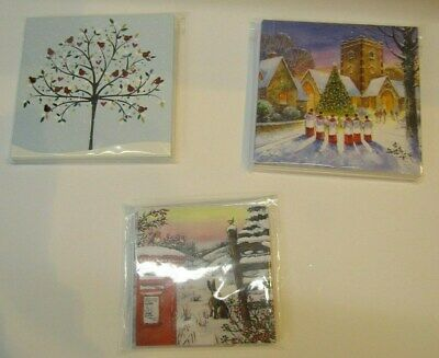 (RO) Christmas cards 3 pack set