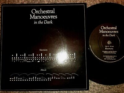 "Orchestral Manoeuvres In The Dark'' Electricity Picture Sleeve 7 "" Record"