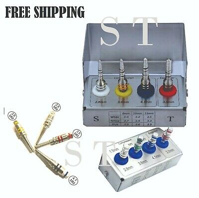 Dental Implant Bone Compression Screw Kit Sinus Lift Expander Dental Instruments