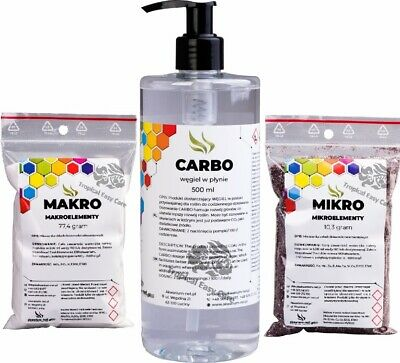 micro,macro,co2,carbo,fertilizer,plant food,aquarium