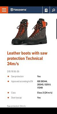 Chainsaw boots size 11 brand new in box