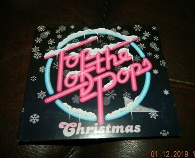Cd - Top Of The Pops Christmas - 2 Cd Set - Band Aid - Abba - Stevie Wonder