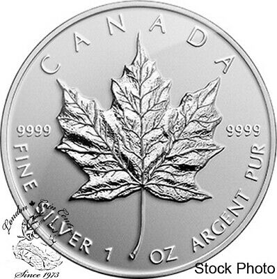 Canada 2014 $5 Maple Leaf Bullion Silver Reverse Proof Coin
