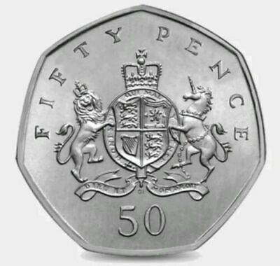 2013 50P Coin Rare Christopher Ironside 100Th Anniversary Fifty Pence