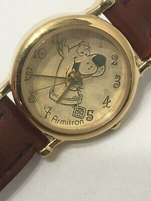 Vintage Scooby-doo Watch WORKS Armitron 1999 Hanna Barbara