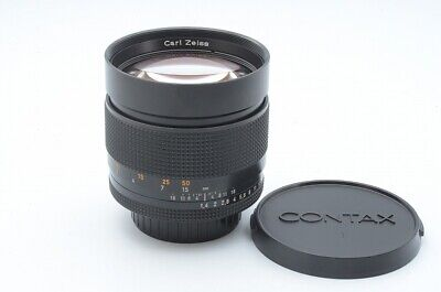 Excellent++ CONTAX Carl Zeiss Planar T* 85mm F/1.4 AEG From Japan!! 113786