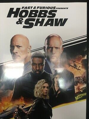 Fast And Furious Presents HOBBS & SHAW (DVD, 2019) Resurfaced
