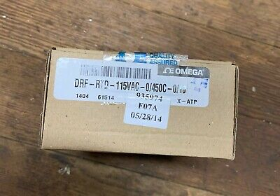 Omega Engineering Drf-Rtd-115Vac-0/450C-0/10 Current Signal Conditioner New