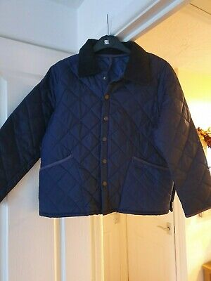 Girl's FERAUD Blue Lightly Padded Jacket, Collared, Age 12 Years, VGC