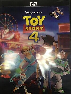 Toy Story 4 (DVD, 2019) Resurfaced Like New