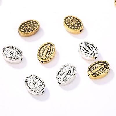 Wholesale Charm Beauty Jesus Figure Beads Alloy Religious Faith Spacer Beads