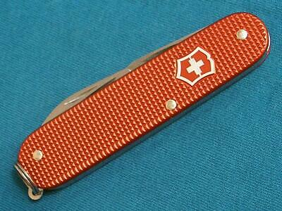 Nm Victorinox Cadet Red Alox Swiss Army Sportsmans Pocket Knife Knives Survival