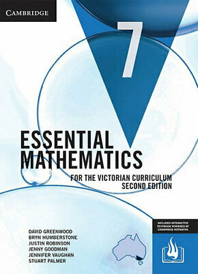 NEW Essential Mathematics for the Victorian Curriculum Year 7 Second Edition Vic
