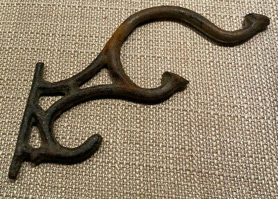 Antique Cast Iron Triple Swivel Hook L3