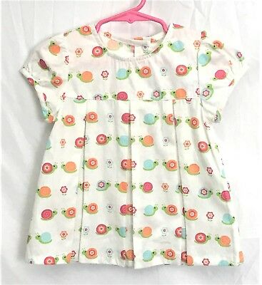 GYMBOREE GROWING FLOWERS PINK FLOWER ALINE S//S TOP 3 6 12 18 24 2T 3T 4T 5T NWT