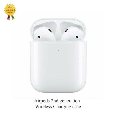 AirPods 2nd Generation 2 Apple with Wireless Charging Case White OEM 2nd Gen