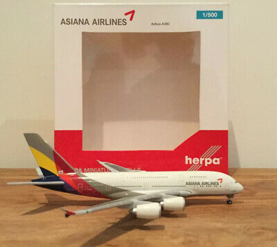 herpa 1/500 Asiana Airlines A380