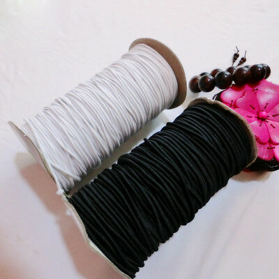 180 yards Round Elastic Making Cord Beading Crafts Stretch Threads 2mm/2.5mm/3mm