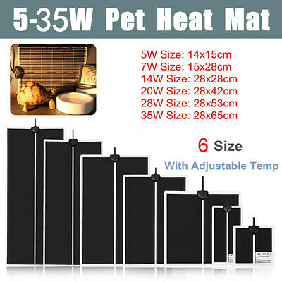 Adjustable Temperature Reptile Heating Heat Mat Heating Pad For Pet ZY