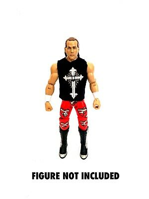 WWE Shawn Michaels 'All Things Are Possible' Custom Shirt For Mattel Figures.