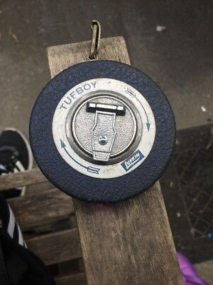 Vintage T50 LUFKIN TUFBOY 50 FT Tape Measure