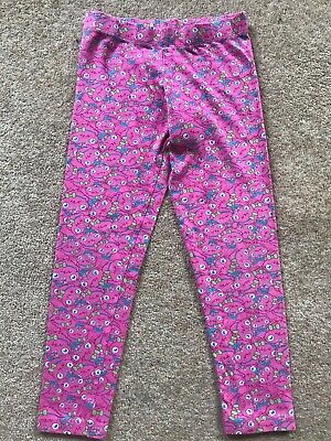 Girls Pink Moshi Monsters Poppet Pyjama Leggings Trousers by M&S. Age 7-8 Years