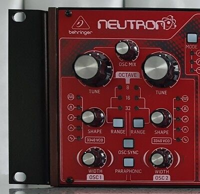 Behringer Neutron / K-2 / Pro-1 Rack Ears (Rack mount kit) - New Stock