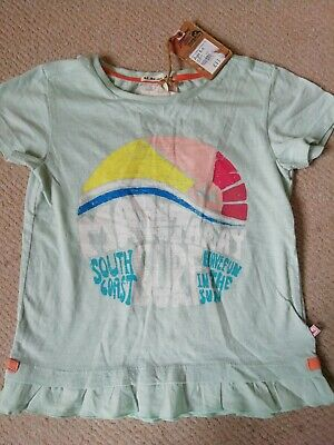 Girls Pretty Surf T-Shirt MANTARAY Age 5-6 Years BRAND NEW WITH TAGS