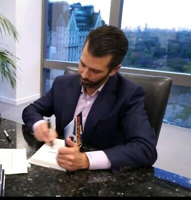 Donald Trump Jr. Autographed Triggered Hardcover Book + Coa- Book In Hand! ·Usa·