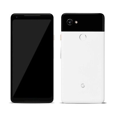 Google Pixel 2 XL 64GB 'Black and white' -LCD BURN-UNLOCKED With warranty